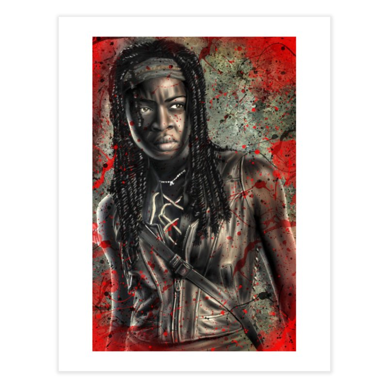 Michonne Home Fine Art Print by EvoComicsInc's Artist Shop