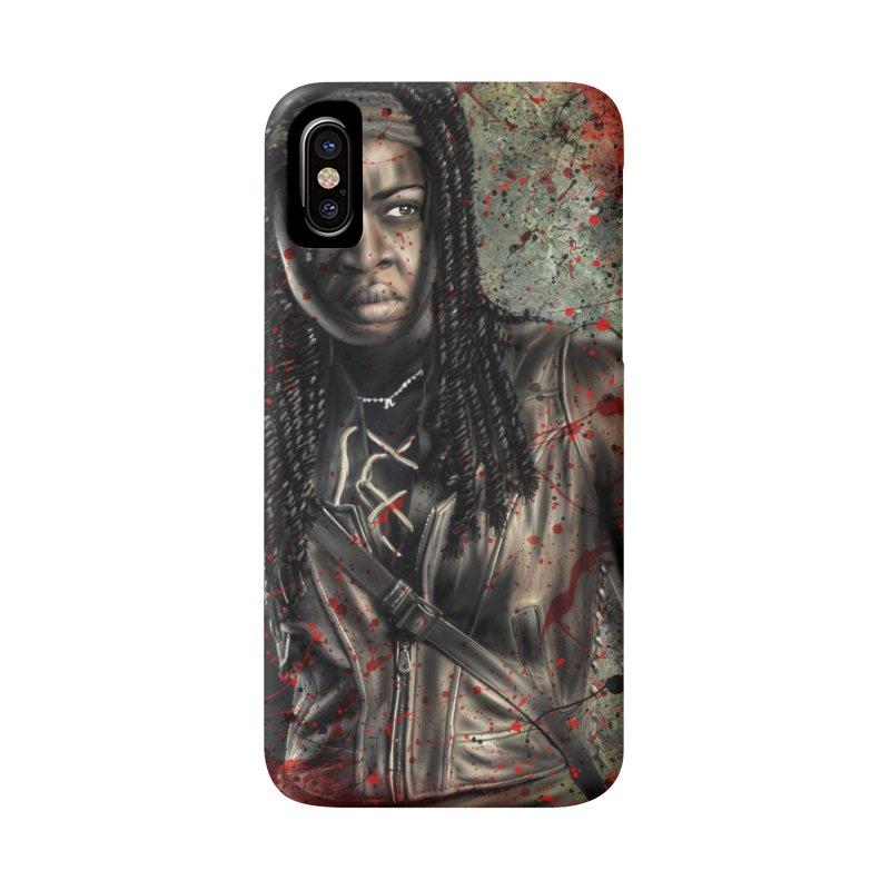 Michonne Accessories Phone Case by EvoComicsInc's Artist Shop