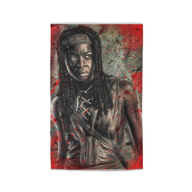 Michonne Home Rug by EvoComicsInc's Artist Shop
