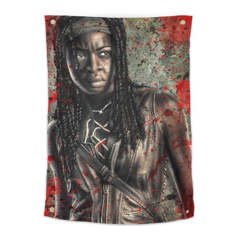 Michonne Home Tapestry by EvoComicsInc's Artist Shop