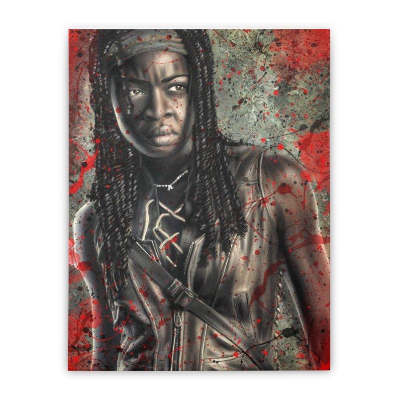 Michonne Home Stretched Canvas by EvoComicsInc's Artist Shop