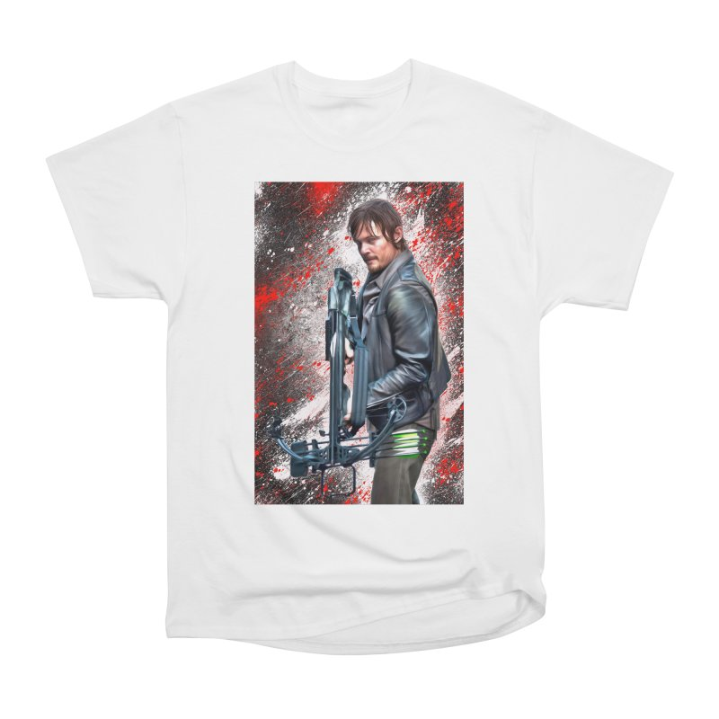 Daryl Dixon Crossbow - The Walking Dead Men's Classic T-Shirt by EvoComicsInc's Artist Shop