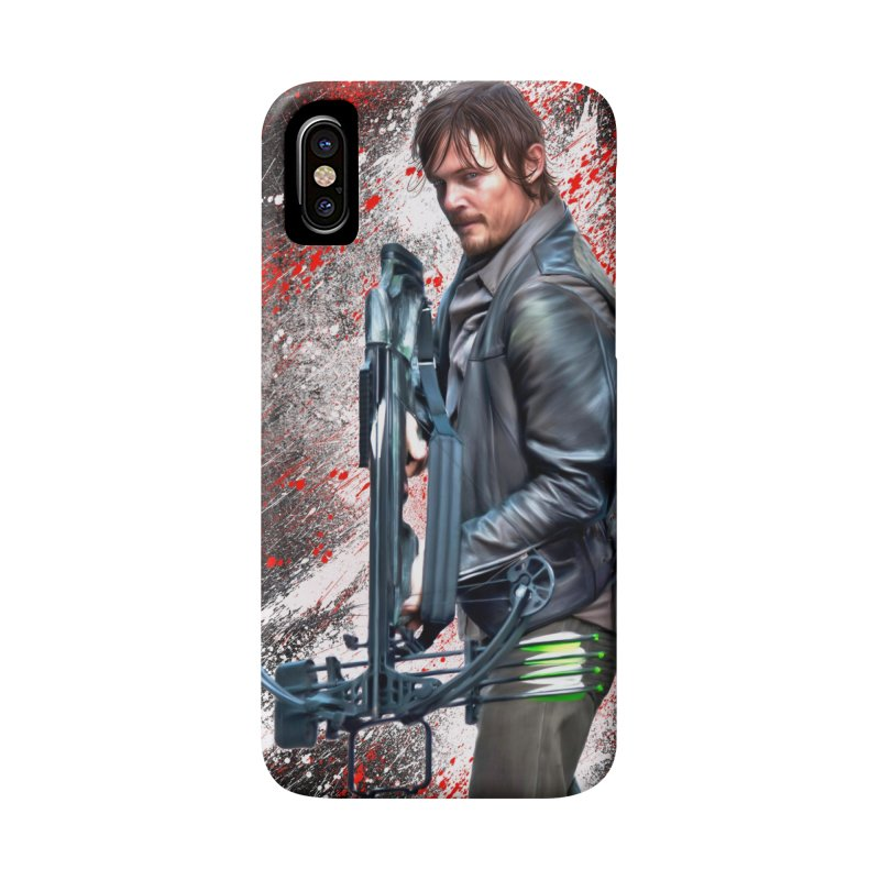 Daryl Dixon Crossbow - The Walking Dead Accessories Phone Case by EvoComicsInc's Artist Shop