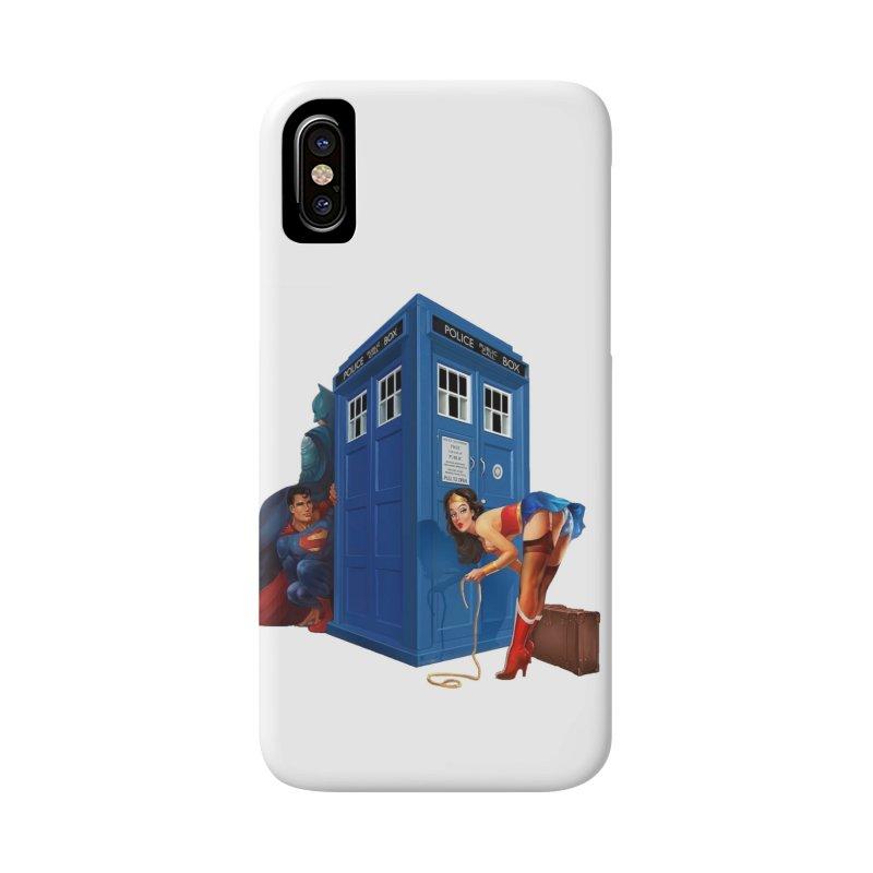 DC Tardis Accessories Phone Case by EvoComicsInc's Artist Shop