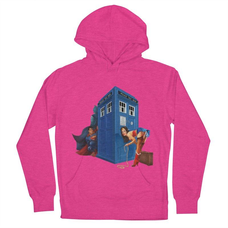 DC Tardis Men's Pullover Hoody by EvoComicsInc's Artist Shop