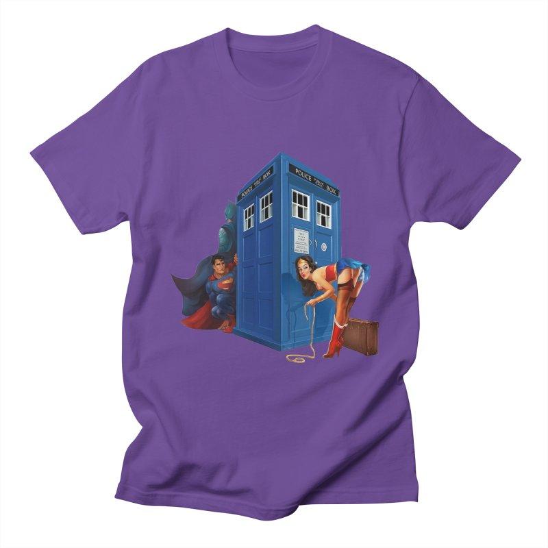 DC Tardis Women's Unisex T-Shirt by EvoComicsInc's Artist Shop