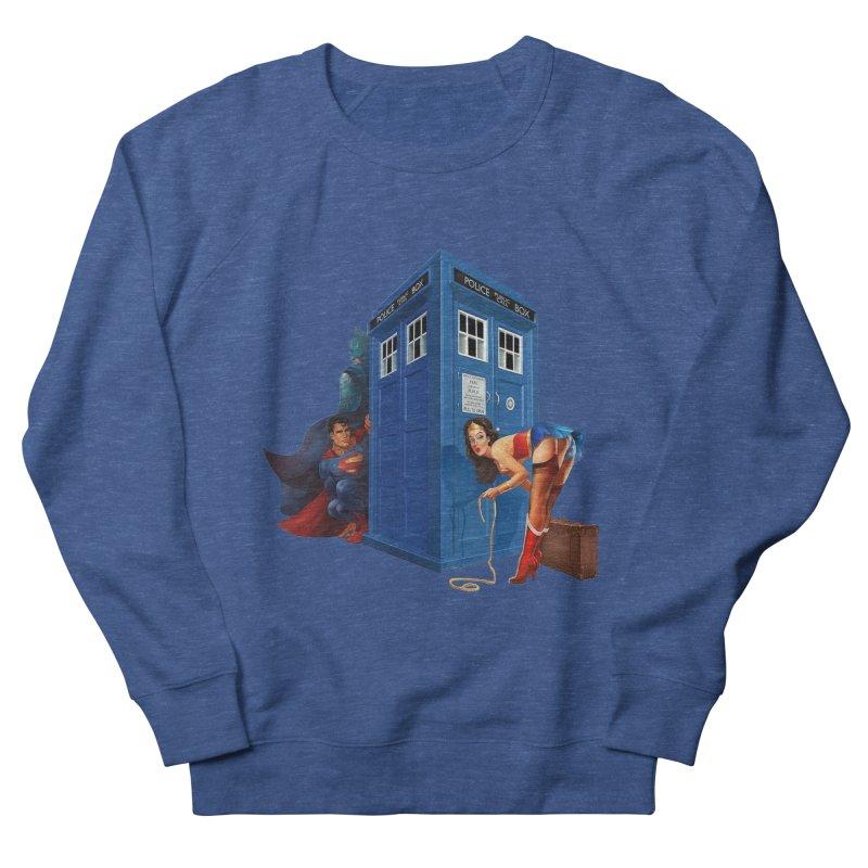 DC Tardis Women's Sweatshirt by EvoComicsInc's Artist Shop