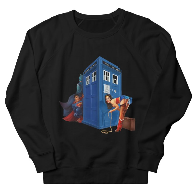 DC Tardis Men's Sweatshirt by EvoComicsInc's Artist Shop