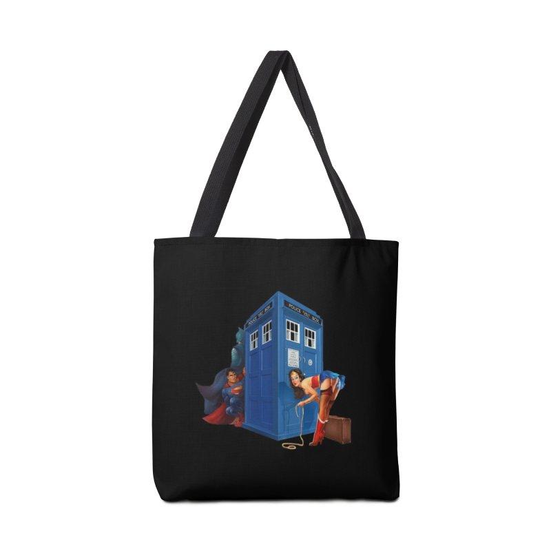 DC Tardis Accessories Bag by EvoComicsInc's Artist Shop