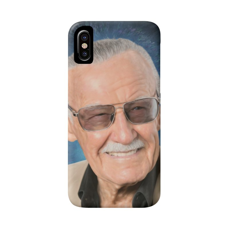 Stan Lee by BadMonkeyPDX Accessories Phone Case by EvoComicsInc's Artist Shop