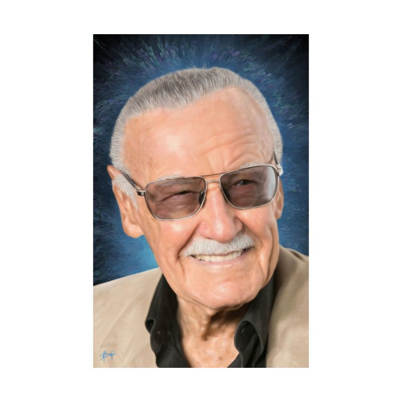 Stan Lee by BadMonkeyPDX Men's Tank by Evolution Comics INC