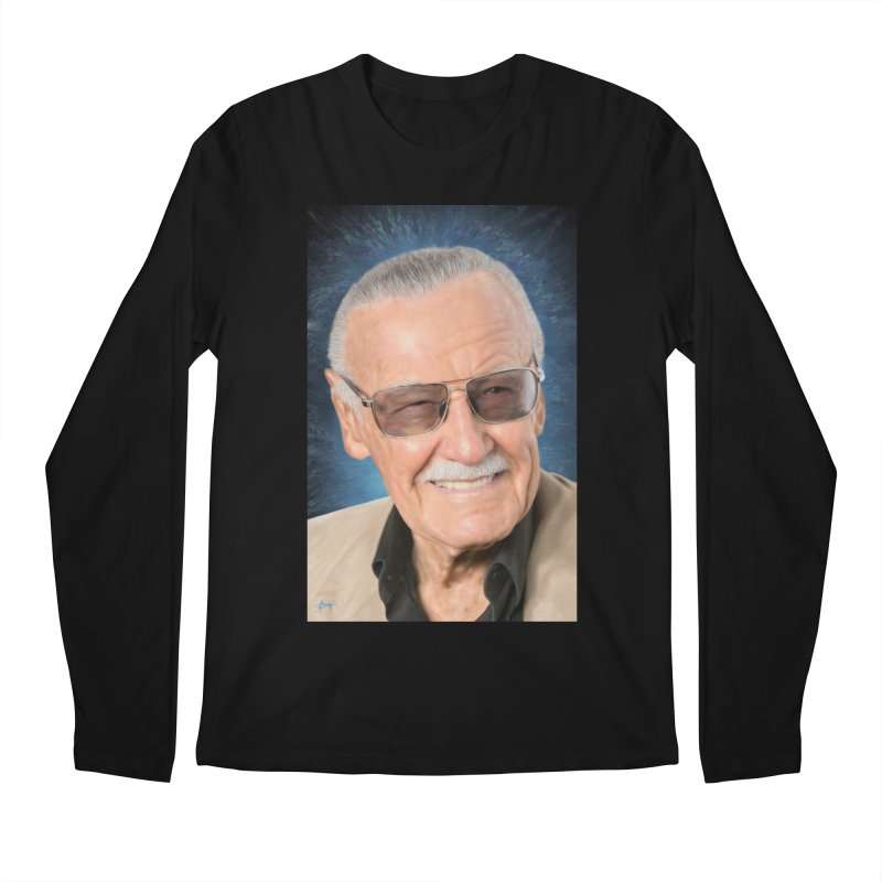 Stan Lee by BadMonkeyPDX Men's Longsleeve T-Shirt by EvoComicsInc's Artist Shop