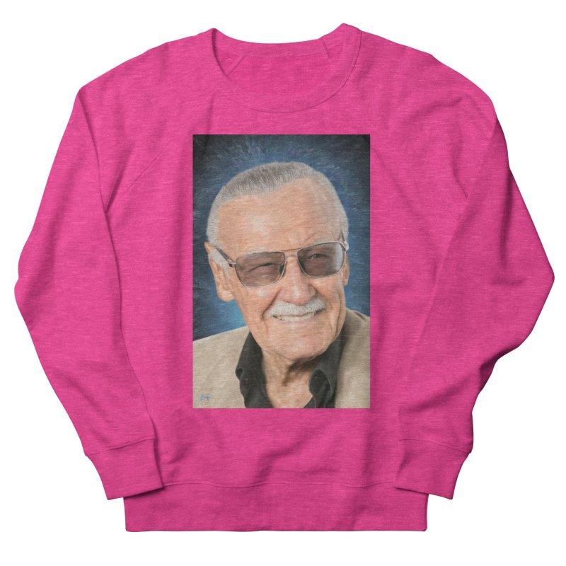 Stan Lee by BadMonkeyPDX Women's Sweatshirt by EvoComicsInc's Artist Shop