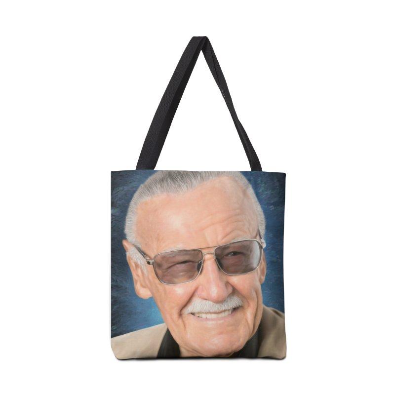 Stan Lee by BadMonkeyPDX Accessories Bag by EvoComicsInc's Artist Shop