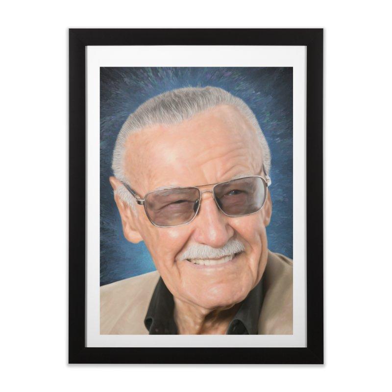 Stan Lee by BadMonkeyPDX Home  by EvoComicsInc's Artist Shop