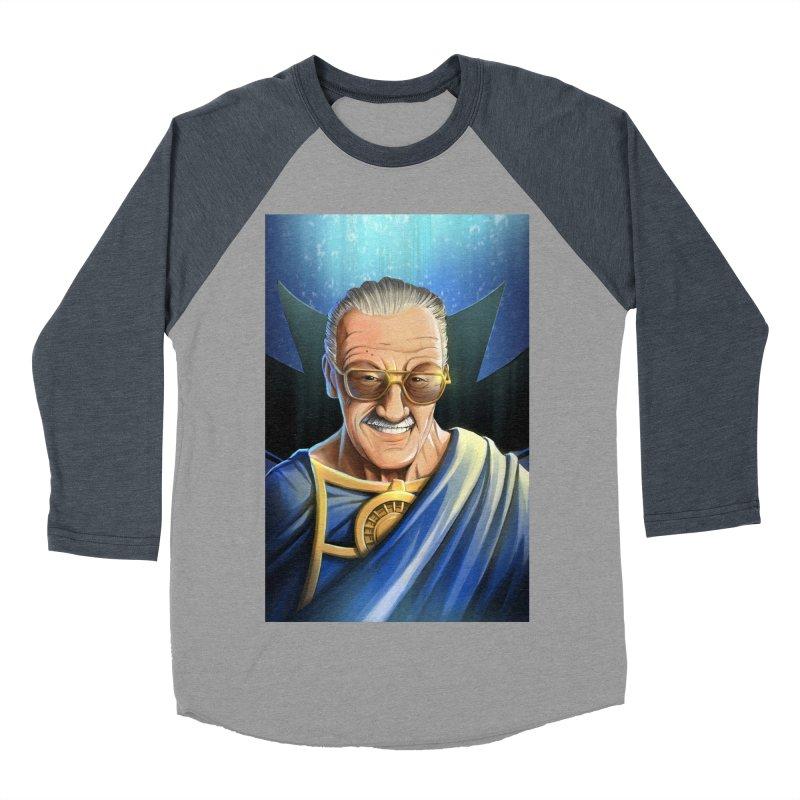 Guardian Stan Lee Women's Baseball Triblend Longsleeve T-Shirt by EvoComicsInc's Artist Shop