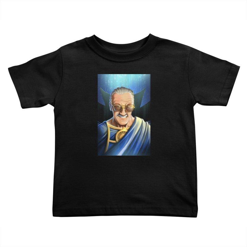 Guardian Stan Lee Kids Toddler T-Shirt by EvoComicsInc's Artist Shop