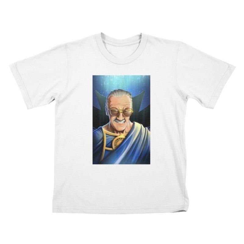 Guardian Stan Lee Kids T-Shirt by EvoComicsInc's Artist Shop