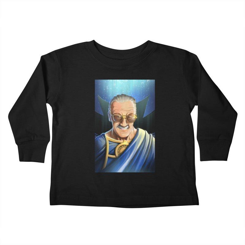 Guardian Stan Lee Kids Toddler Longsleeve T-Shirt by EvoComicsInc's Artist Shop