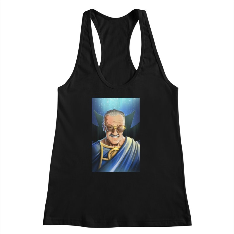 Guardian Stan Lee Women's Racerback Tank by EvoComicsInc's Artist Shop