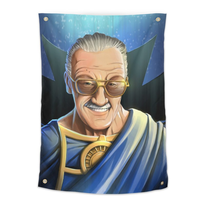 Guardian Stan Lee Home Tapestry by EvoComicsInc's Artist Shop