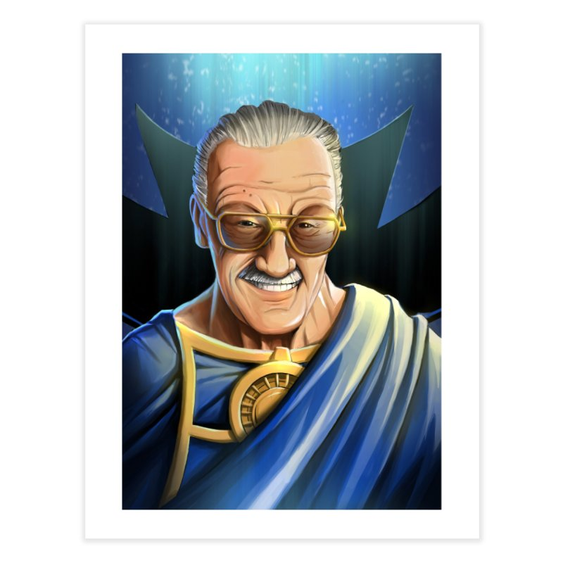 Guardian Stan Lee Home Fine Art Print by EvoComicsInc's Artist Shop