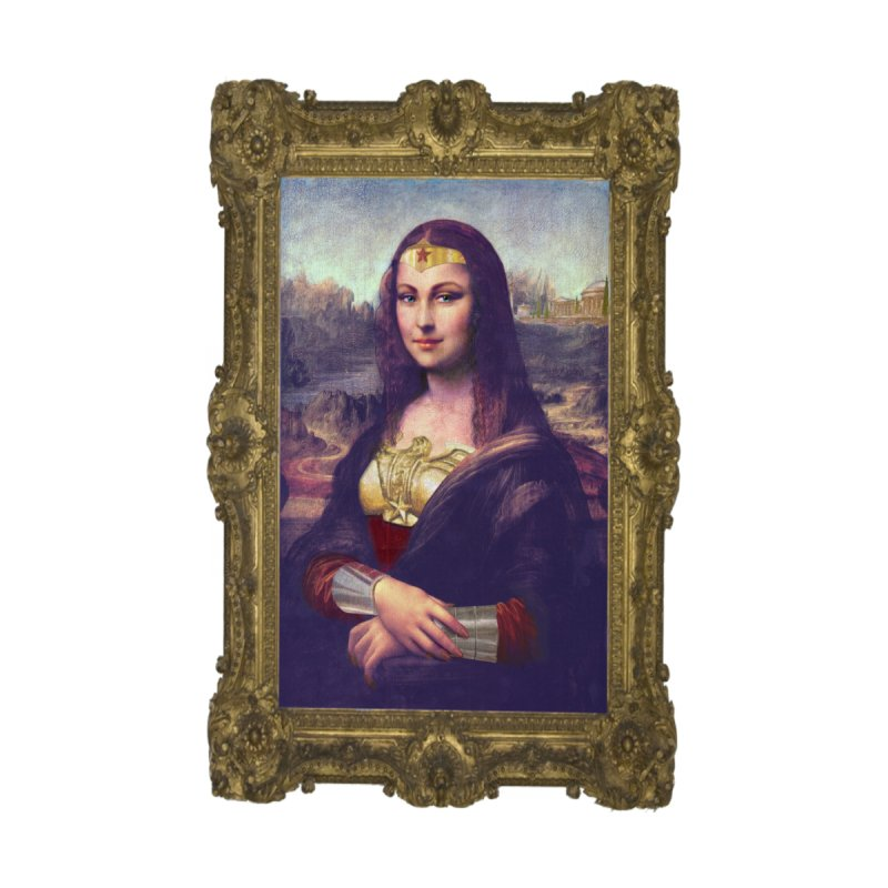 The Wonder Woman of Mona Lisa None  by EvoComicsInc's Artist Shop