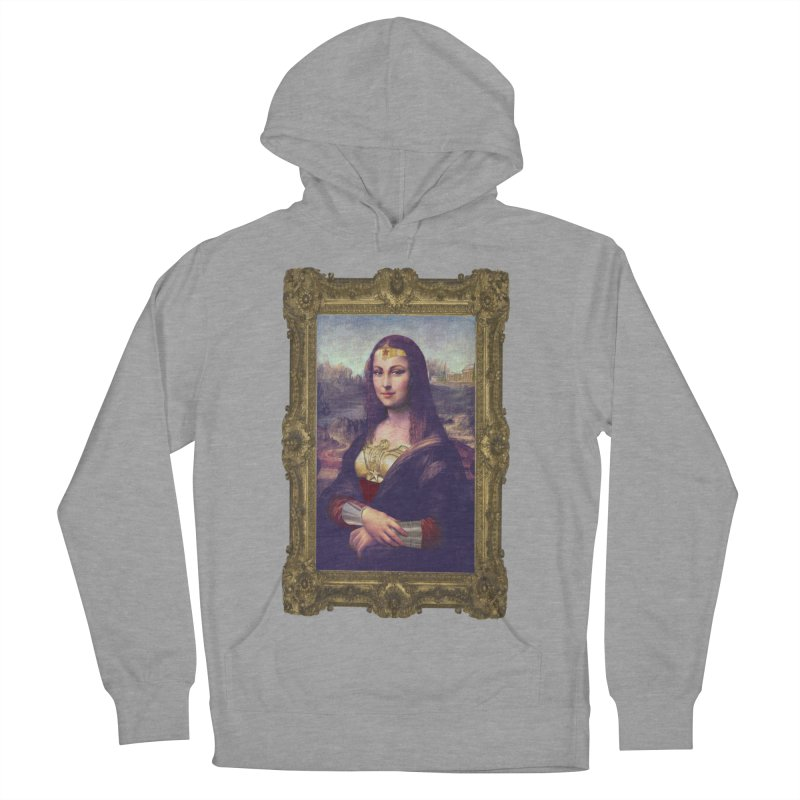 The Wonder Woman of Mona Lisa Women's Pullover Hoody by EvoComicsInc's Artist Shop