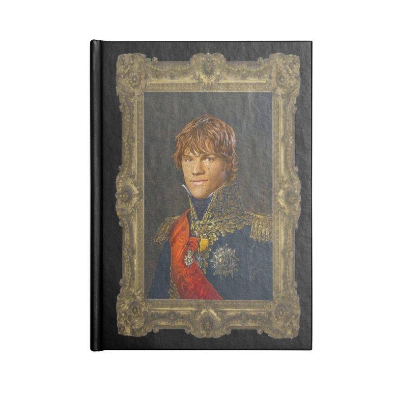 Supernatural Sam Winchester Accessories Notebook by EvoComicsInc's Artist Shop