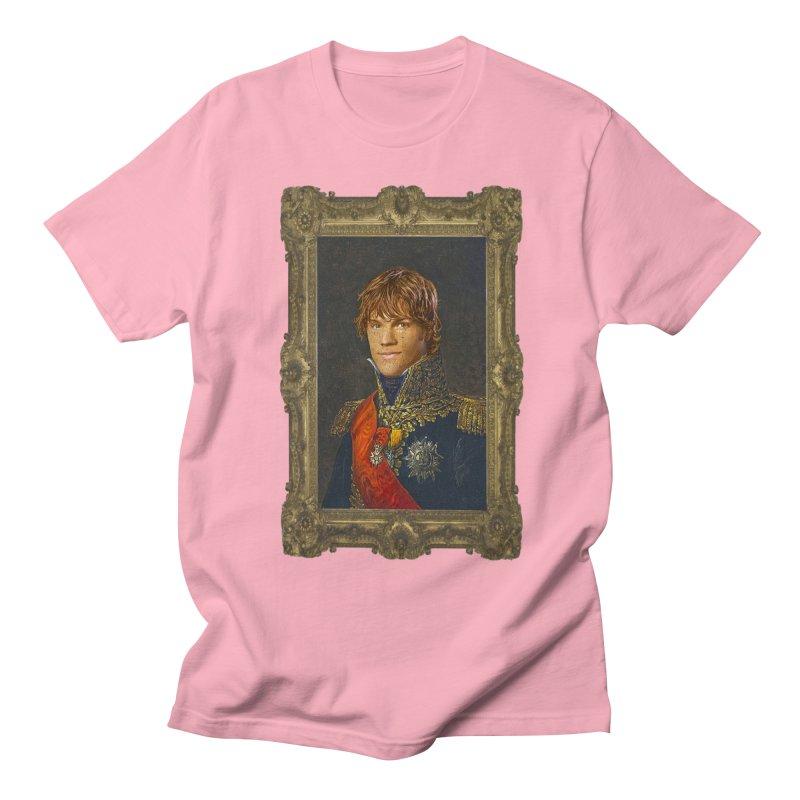 Supernatural Sam Winchester Men's T-Shirt by EvoComicsInc's Artist Shop