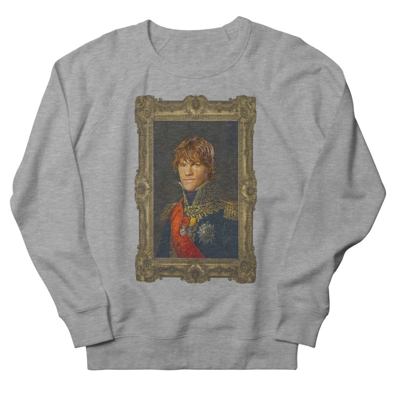 Supernatural Sam Winchester Men's French Terry Sweatshirt by EvoComicsInc's Artist Shop