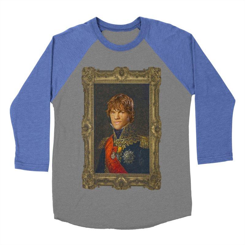 Supernatural Sam Winchester Women's Baseball Triblend T-Shirt by EvoComicsInc's Artist Shop