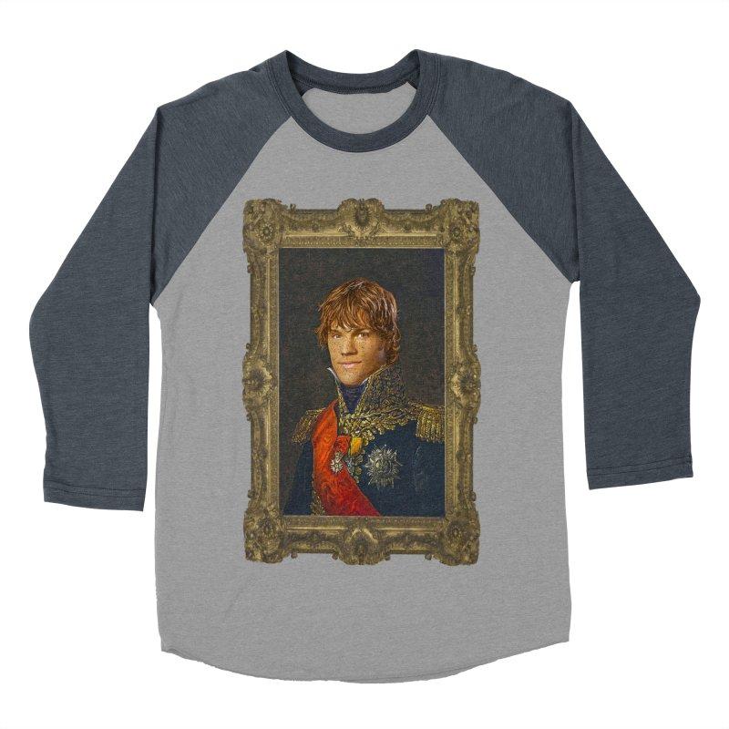 Supernatural Sam Winchester Women's Baseball Triblend Longsleeve T-Shirt by EvoComicsInc's Artist Shop