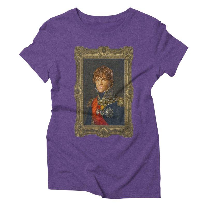 Supernatural Sam Winchester Women's Triblend T-Shirt by EvoComicsInc's Artist Shop