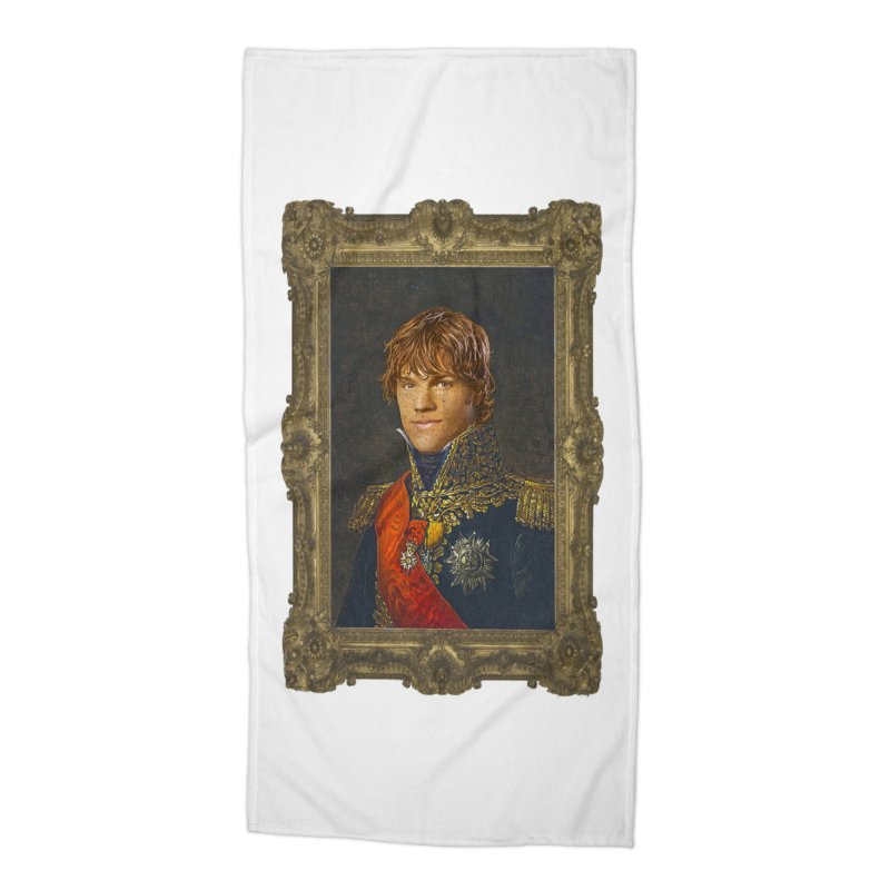 Supernatural Sam Winchester Accessories Beach Towel by EvoComicsInc's Artist Shop