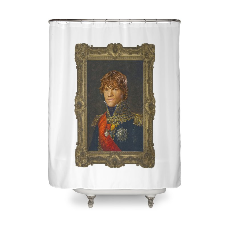 Supernatural Sam Winchester Home Shower Curtain by EvoComicsInc's Artist Shop