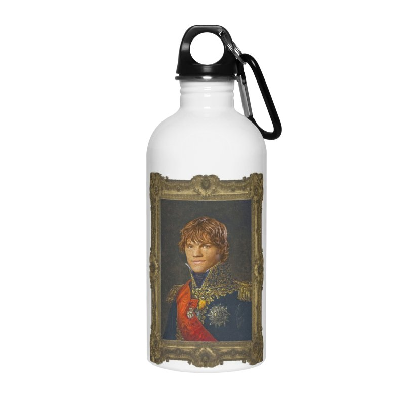 Supernatural Sam Winchester Accessories Water Bottle by EvoComicsInc's Artist Shop