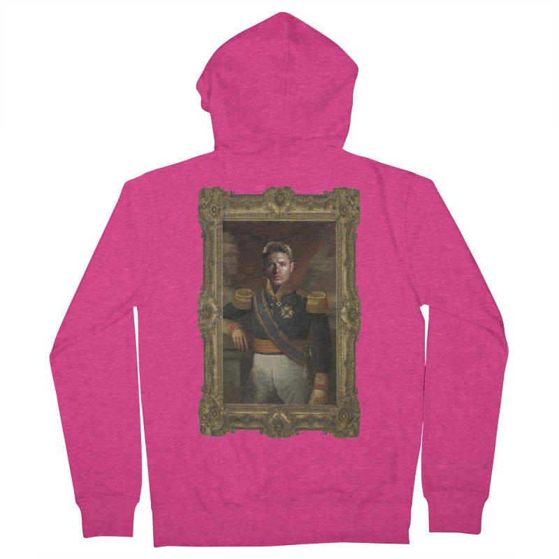 Supernatural Dean Winchester Women's Zip-Up Hoody by EvoComicsInc's Artist Shop
