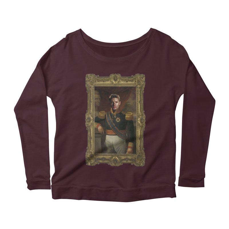 Supernatural Dean Winchester Women's Scoop Neck Longsleeve T-Shirt by EvoComicsInc's Artist Shop