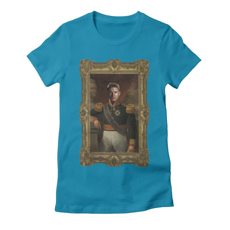 Supernatural Dean Winchester Women's Fitted T-Shirt by EvoComicsInc's Artist Shop