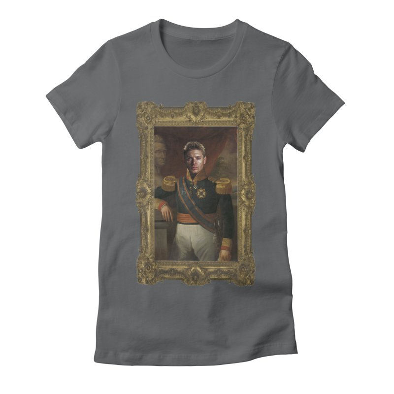 Supernatural Dean Winchester Women's Fitted T-Shirt by EvoComicsInc's Artist Shop
