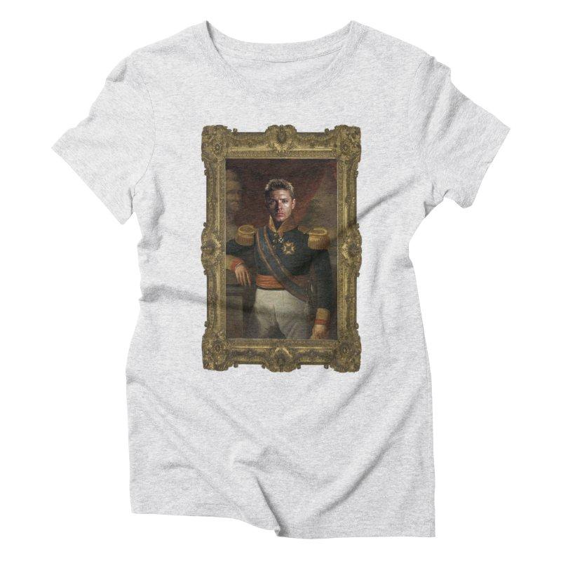Supernatural Dean Winchester Women's Triblend T-Shirt by EvoComicsInc's Artist Shop