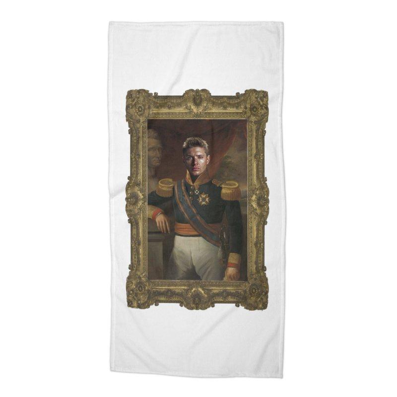 Supernatural Dean Winchester Accessories Beach Towel by EvoComicsInc's Artist Shop