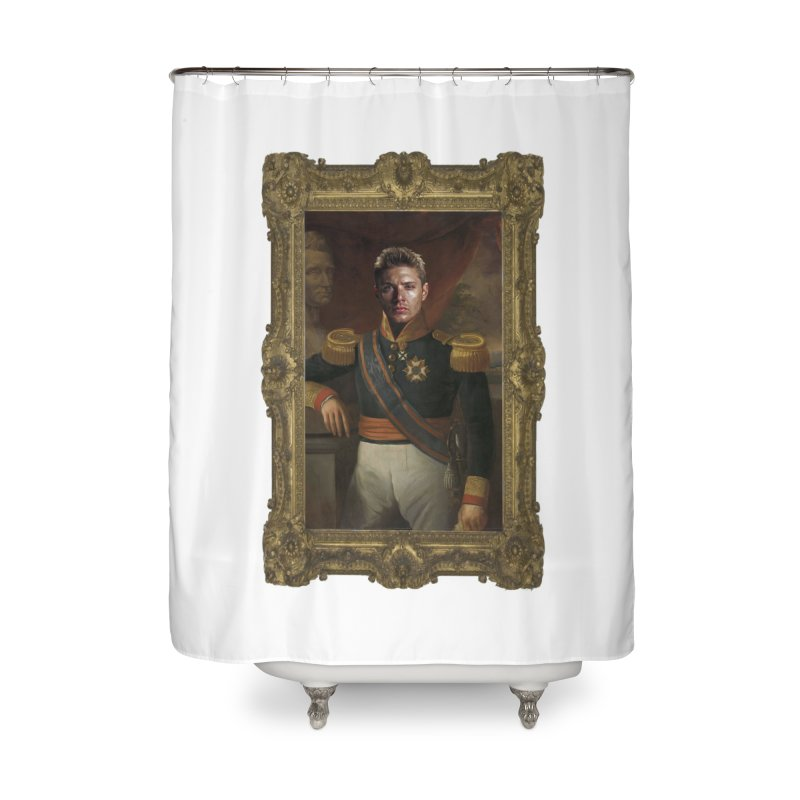 Supernatural Dean Winchester Home Shower Curtain by EvoComicsInc's Artist Shop