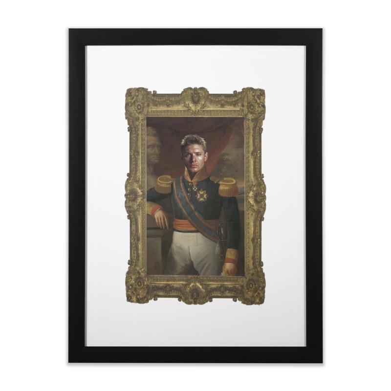 Supernatural Dean Winchester Home Framed Fine Art Print by EvoComicsInc's Artist Shop