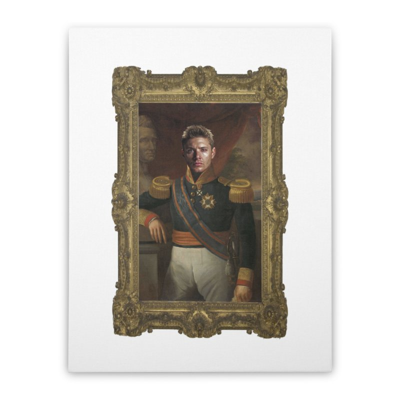 Supernatural Dean Winchester Home Stretched Canvas by EvoComicsInc's Artist Shop