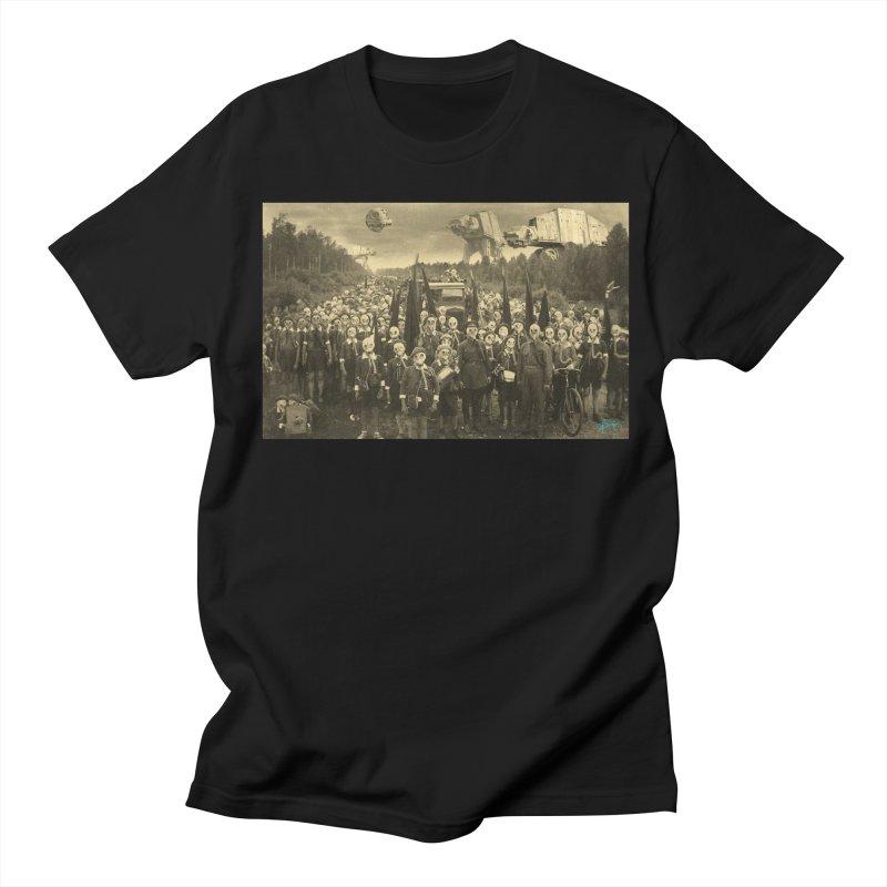 Gasmask Island Women's Unisex T-Shirt by EvoComicsInc's Artist Shop