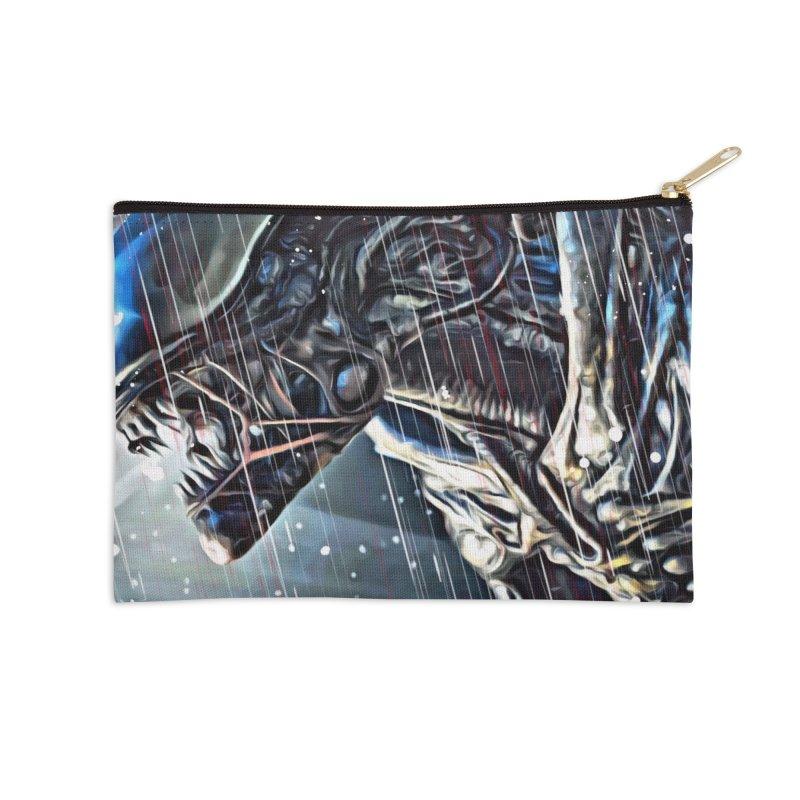 Alien Accessories Zip Pouch by EvoComicsInc's Artist Shop