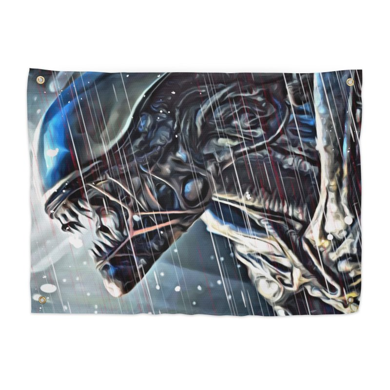 Alien Home Tapestry by EvoComicsInc's Artist Shop