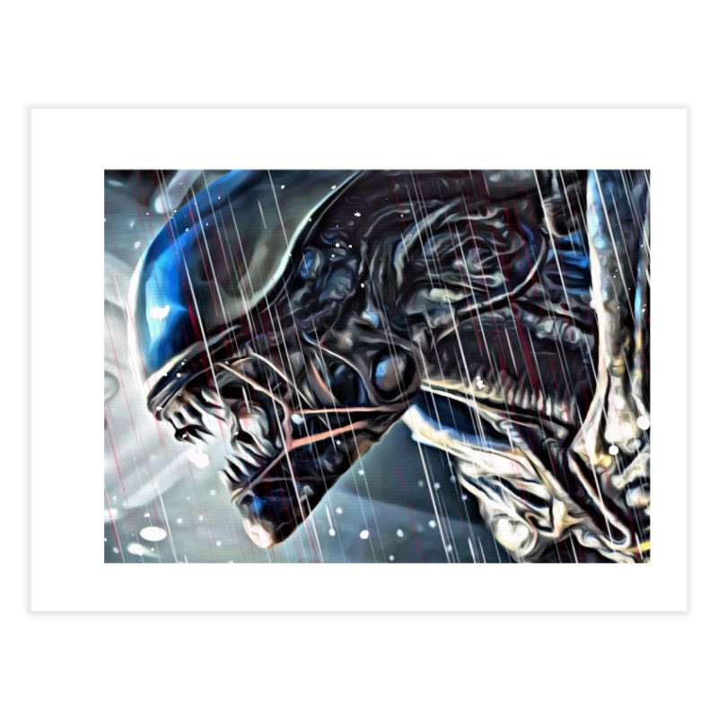 Alien Home Fine Art Print by EvoComicsInc's Artist Shop